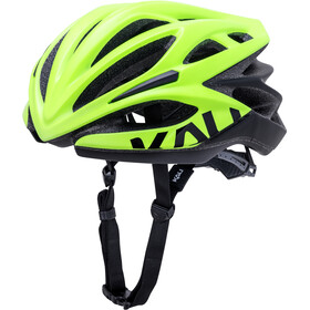 Kali Loka Valor Casque, matt fluo yellow/black